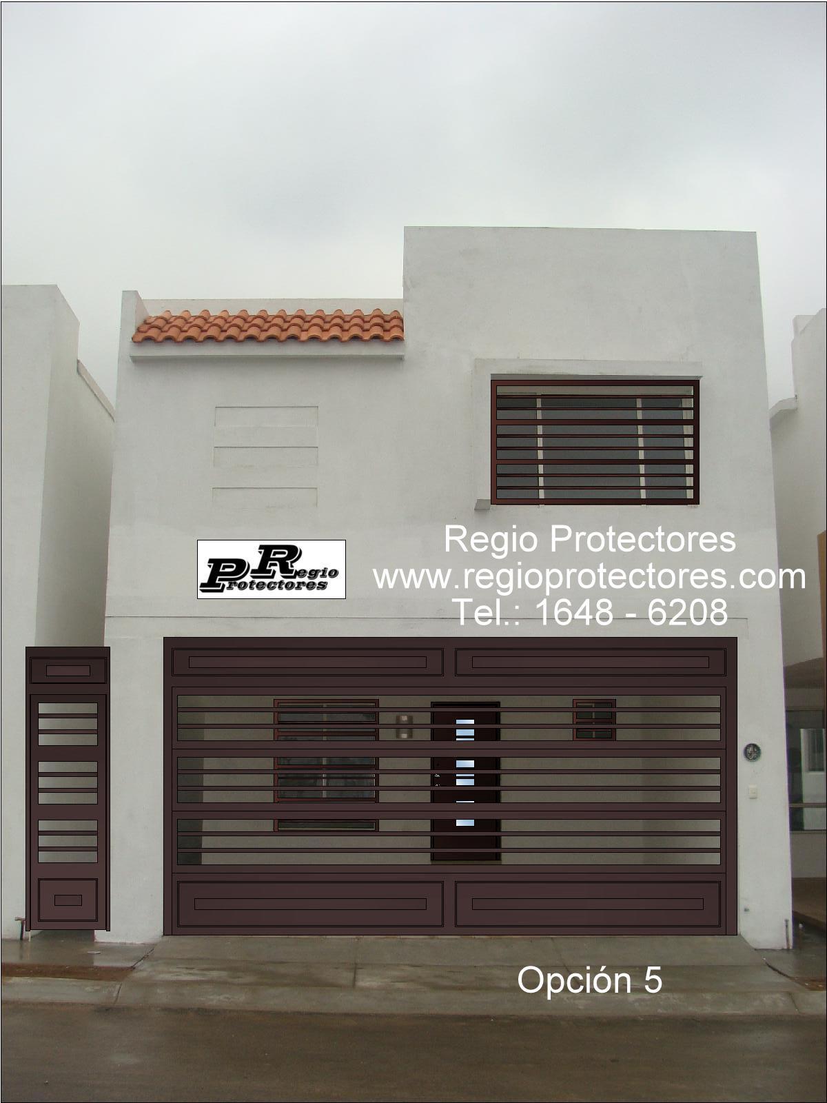 Regio Protectores, Diseño de protectores para ventana y Portón