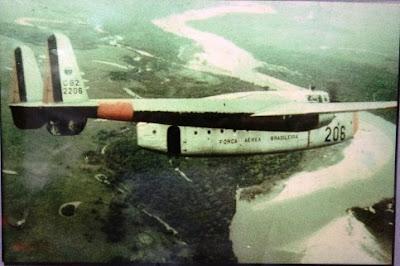 Os vagoes da Força Aérea Brasileira C-82+2206+SAR+-+in+service