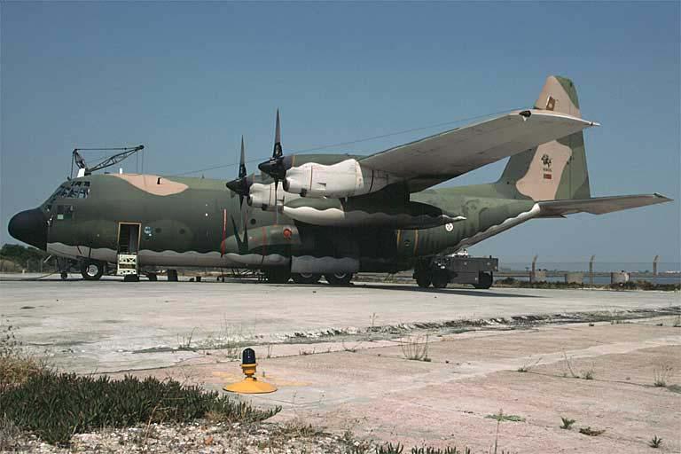 C-130 de Portugal estão proibidos de sobrevoar a Europa
