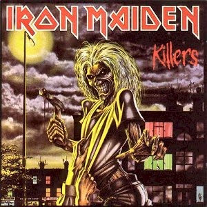 Iron Maiden Killers album cover