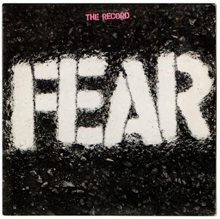 Fear - The Record CD cover