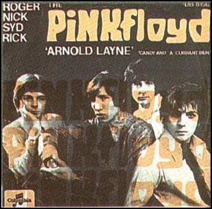 Pink Floyd Arnold Layne Dutch 7-inch cover
