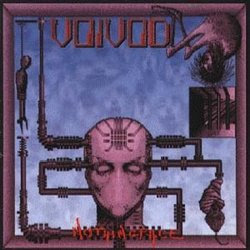 Voivod Nothingface CD cover