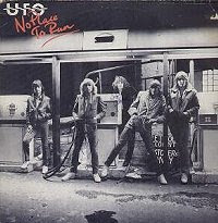 UFO No Place To Run  Album cover