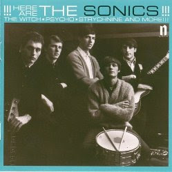 The Sonics Here Are The Sonics album cover