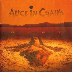 Alice in Chains Dirt CD cover