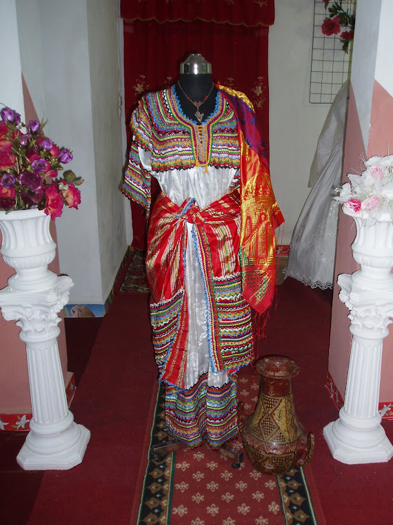 ROBE KABYLE POUR MARIEE