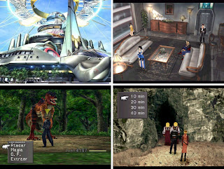 Capturas Final Fantasy VIII