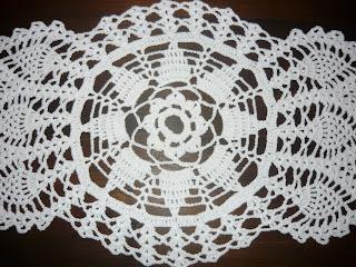 Anna Y Su Mundo Camino De Mesa Tejido A Crochet