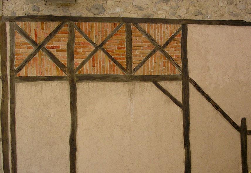 Guy sahuc peinture et d cors peinture d co - Fausse brique interieur ...