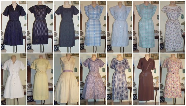 Vintage Bulletin The Vintage Clothing Blog Plus Size Day Dresses