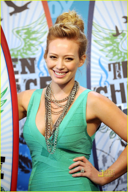 Celebrity Photos: Hilary Duff at Teen Choice Awards with ...