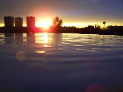 soleil couchant pidic encadrees photographie bordeaux photo amateur