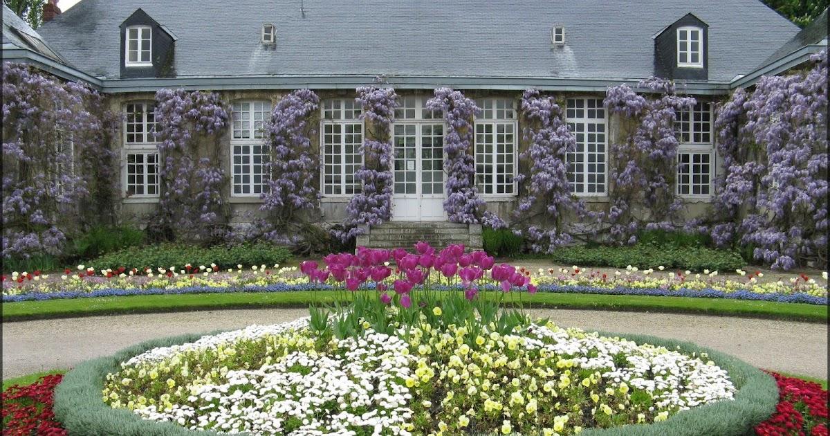 Rouen en images le jardin des plantes - Pont du jardin des plantes ...