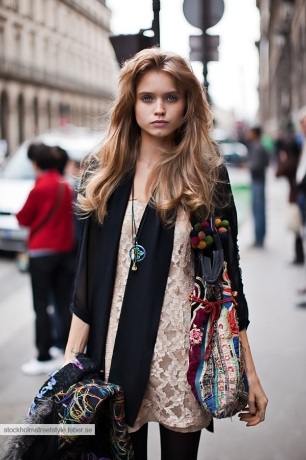Street Style Abbey Lee Kershaw The Front Row View
