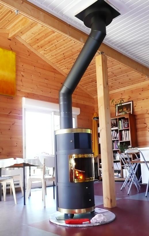 Maison en bois massif quel chauffage choisir pour une maison en bois massif 1 for Chambre mansardee chaleur