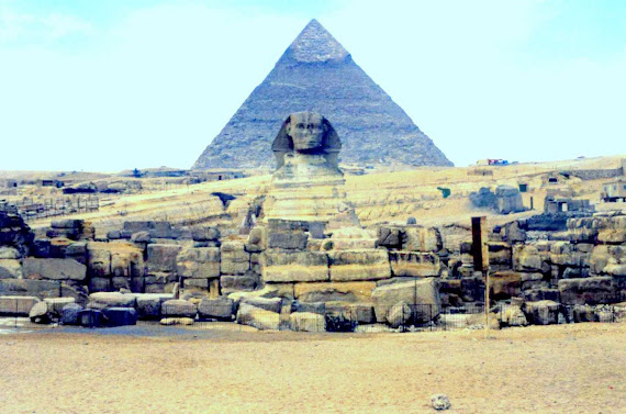 The Silent Sphynx at Giza