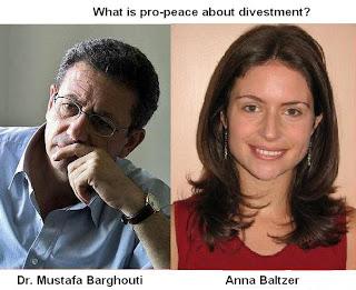 Mustafa Barghouti  Anna Baltzer