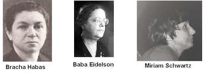 Bracha Habas, Baba Eidelson, Miriam Schwartz
