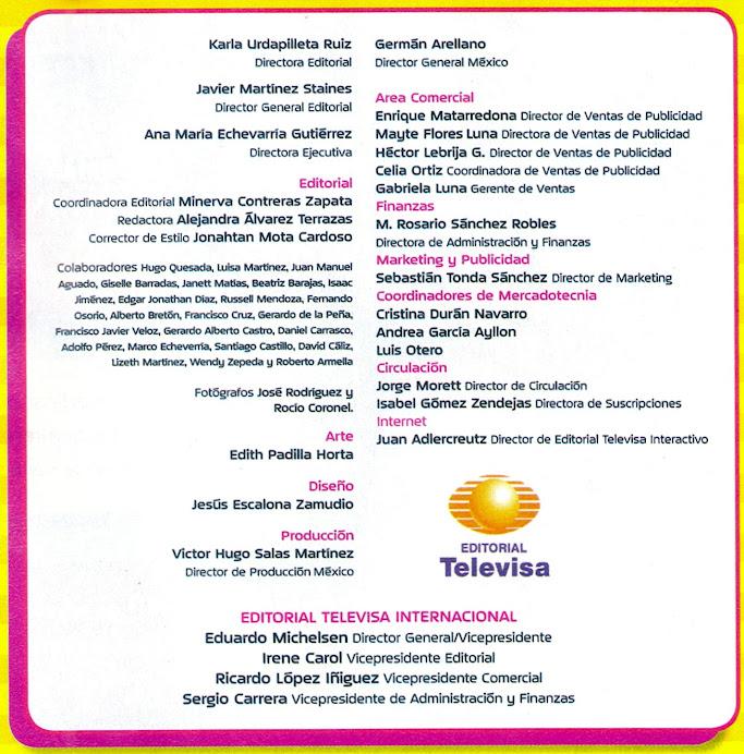 2007 Nov - Revista Eres Niños Televisa