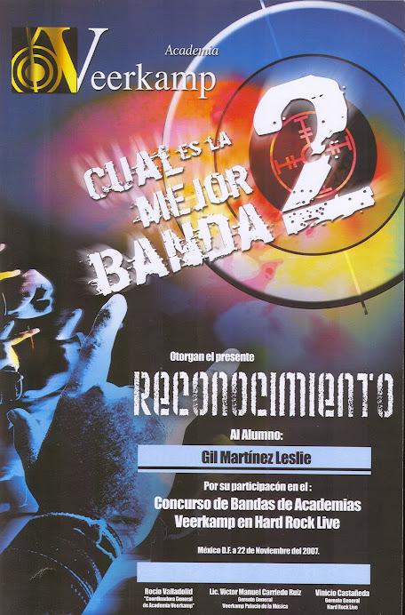 2007 Nov 22 Reconocimiento Hard Rock