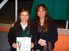2008 Febrero 12 - Mencion Honorifica Leslie