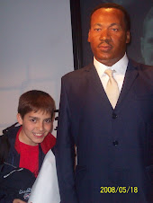 2008 Mayo 18 - Steve con Martin Luther King