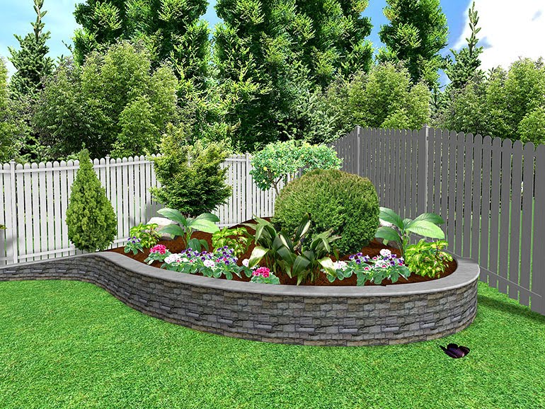 Modern garden landscaping ideas for Garden designs and landscapes