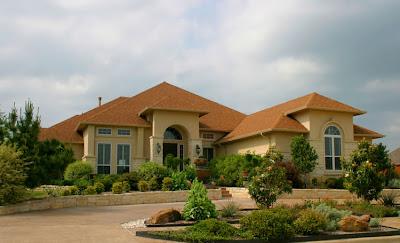 modern front yard landscaping, modern home garden design