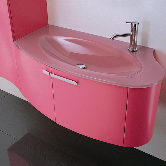 Pink Bathroom Sinks. Want To See More Pink Bathrooms. Amazing ...