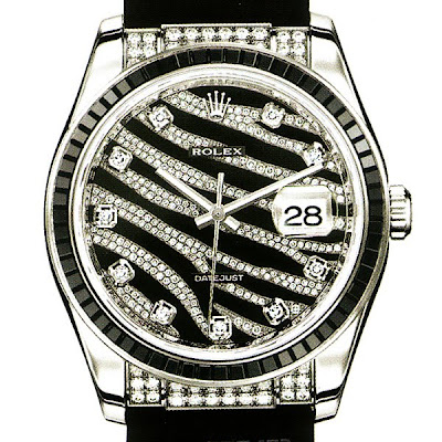 Rolex Datejust Royal Black Luxury Watch
