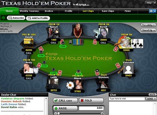 Zynga poker mozilla