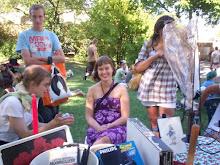 Solidaritesloppis i Folkets Park 2008