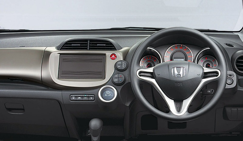 The mystery of the presence of 2011 Honda Jazz