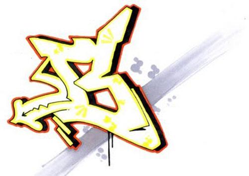 letter b graffiti. Graffiti Alphabets Letter B