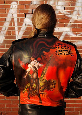 ozzy airbrush leather