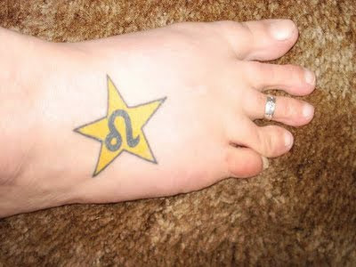 Symbolizes Tattoo Sign Leo Zodiac Tattoos