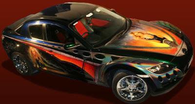 MAZDA RX8 Car Airbrush