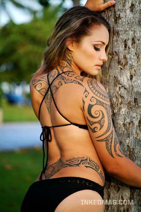 Models Extreme Tattoo Tribal