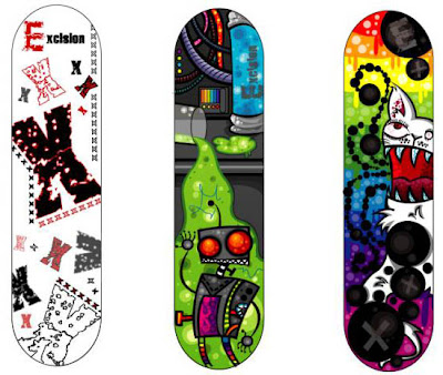 Cool 3D Airbrush Skate