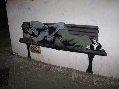 Israel Street on Wall Graffiti