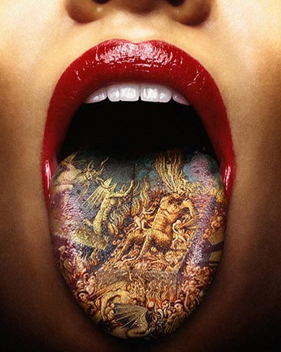 Tongue Tattoos are