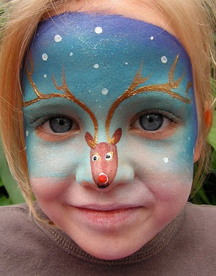 Airbrush Face Painting Designs