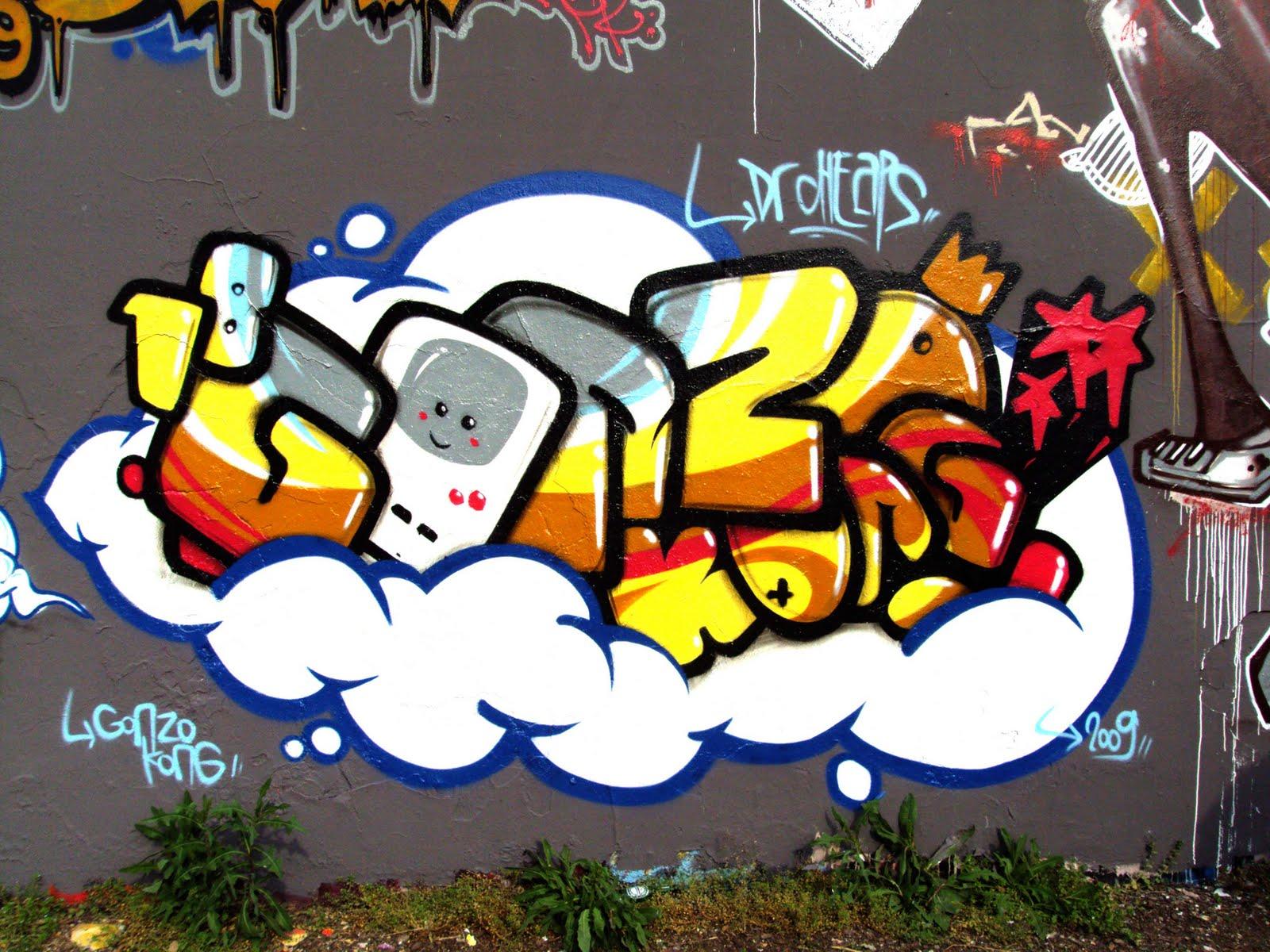 ... : GRAFFIRI ALPHABETS BUBBLE >> GonZo's Best Graffiti Alphabets Bubble