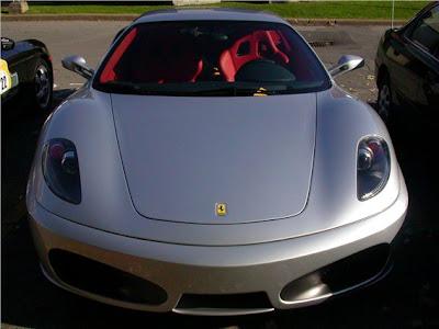 Silver Ferrari F430 Pictures 1