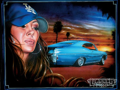 Airbrush Women and Car Designs