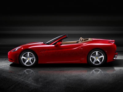 Cool Ferrari Car on California Picture