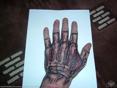 Cool Biomechanical Tattoo Designs 1