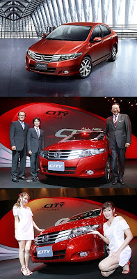Hot Cars All New Honda City Picture