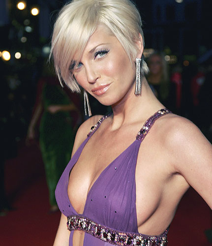 The Sarah Harding Short hairstyles unique use of layering can create height